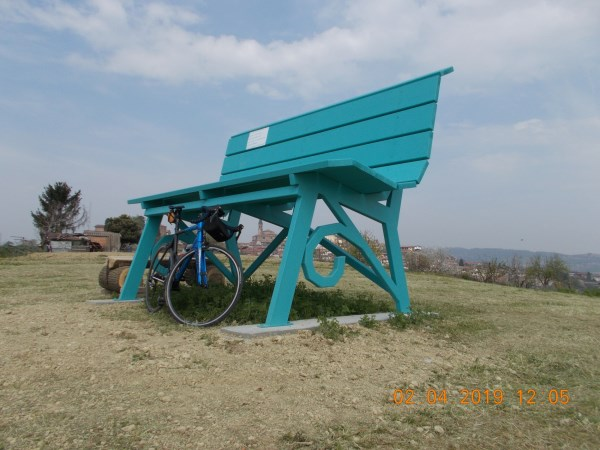 big bench 60 tonco turchese